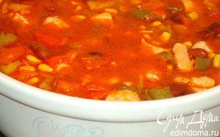 Рецепт Овощное рагу с курочкой