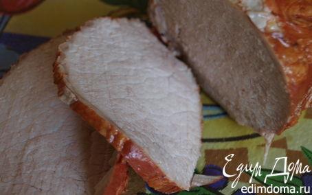 Рецепт Мясо в луковой шелухе