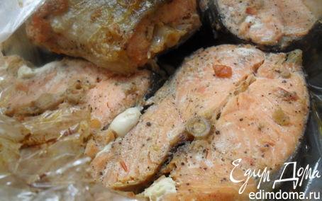 Рецепт Рыба запеченая в рукаве