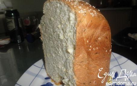 Рецепт Хлеб с укропом в хлебопечке