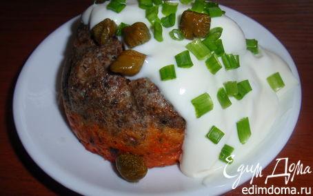 Рецепт Печеночно-овощные маффины