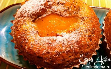 Рецепт Французские пирожные с персиками