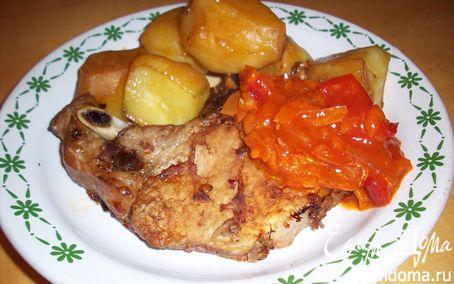 Рецепт Блюдо для настоящих мужчин - мясо на ребрышке