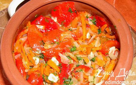 Рецепт Маринованный салат из сладкого перца