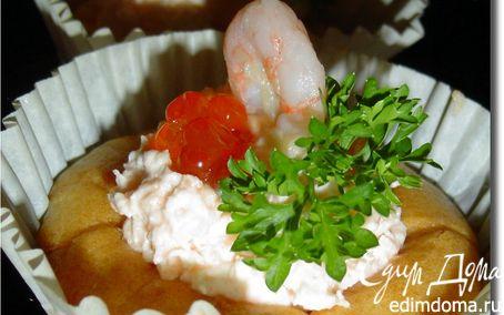 Рецепт Пирожное рыбно-икорное