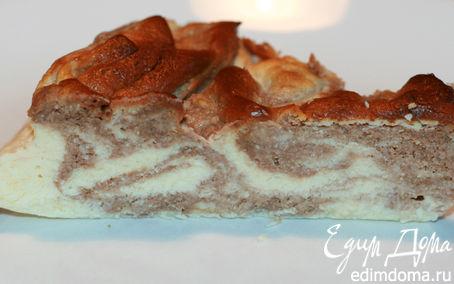 Рецепт Шоколадный мраморный чизкейк