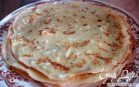 Рецепт Блины сырные, сладко-соленые