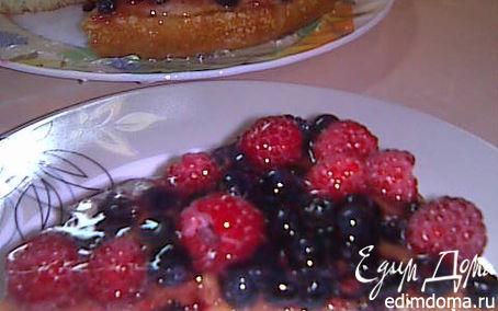 Рецепт Манник с ягодами