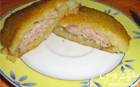 Рецепт Драники с фаршем