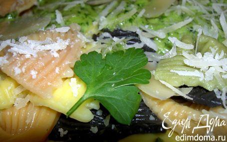 Рецепт Фарфалле с песто из петрушки