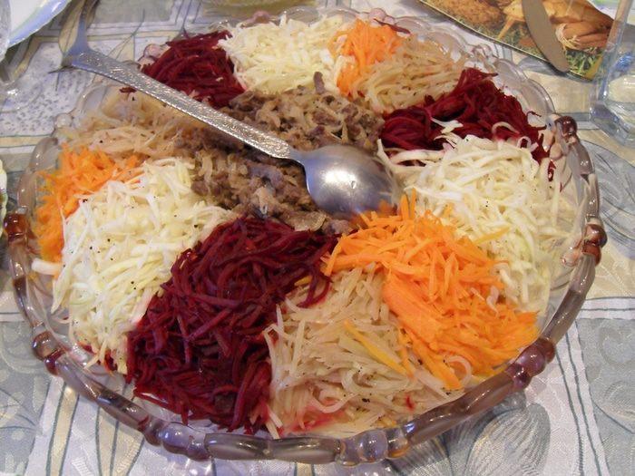 Салат чафан рецепт с пошагово