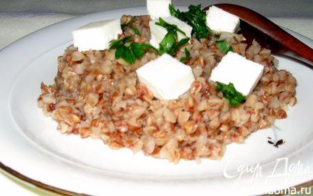 Рецепт Гречневая каша с имбирем и домашним сыром