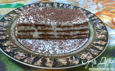 Рецепт Торт суфле с печеньем