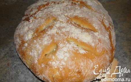 Рецепт Fougasse (Французский хлеб)