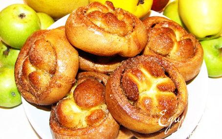 Рецепт Пряные булочки (постный рецепт)