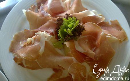 Рецепт Дыня с ветчиной (Melone e Prosciutto)