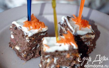 Рецепт Печеночный тортик-канапе