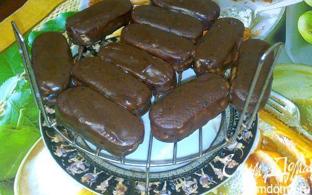 Рецепт Глазированные творожные сырки в печенье