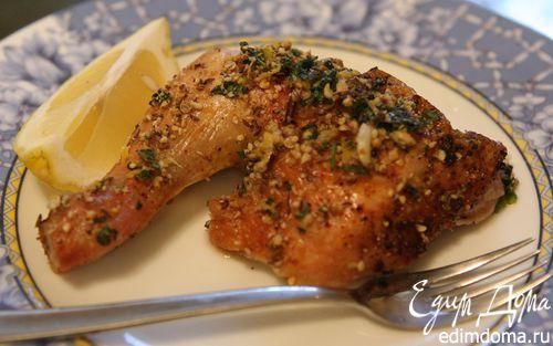 Рецепт Пряный цыпленок с чесноком