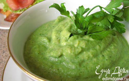 Рецепт Суп-пюре из брокколи и моркови