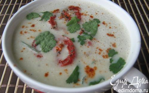 Рецепт Суп-крем из баклажанов с запечёнными помидорами
