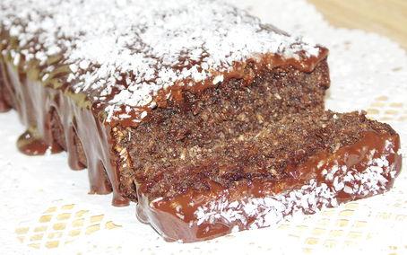 Рецепт Миндально-кокосовый пирог с шоколадом