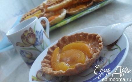 "Рецепт Тарталетки ""Оранжевое солнце"""