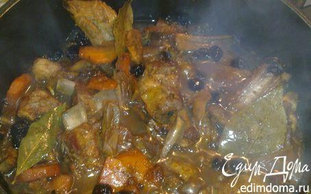 Рецепт Свиные ребра с копченой вишней