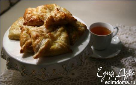Рецепт Венгерские ватрушки с карамелизированными грушами