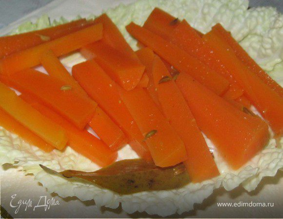 Острая морковка.