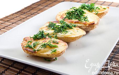 Рецепт картофель запеченный с плавленным сыром VIOLA