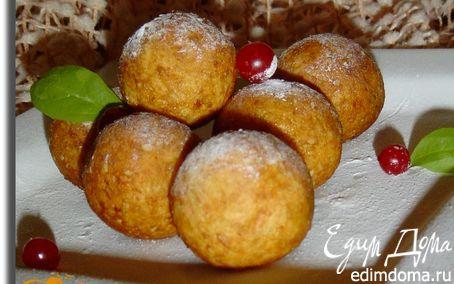 Рецепт Сладкие картофельно-кунжутные шарики