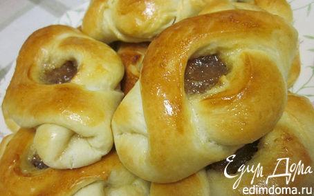 Рецепт пирожки с яблочным вареньем в хлебопечке