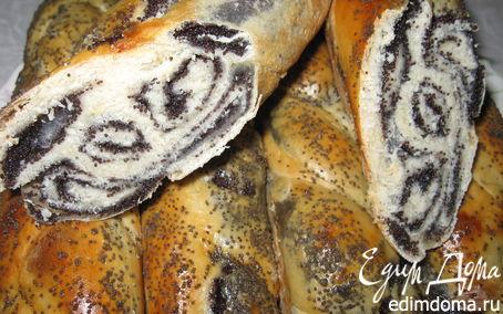 Рецепт Мини-рулеты с маком в хлебопечке