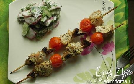 Рецепт Шашлычки из курицы