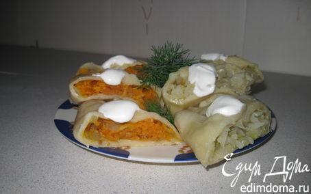 Рецепт Овощи в тесте на пару в пароварке