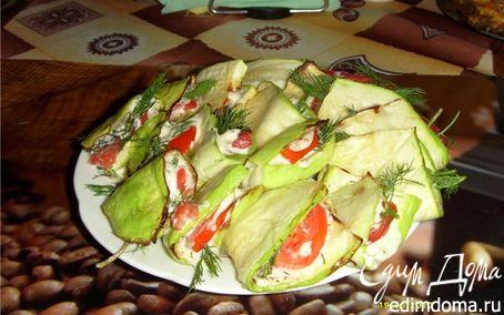 Рецепт Язычки из кабачков на гриле