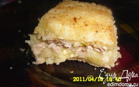 """Рецепт Картофельная запеканка """"Ел бы и ел"""""""