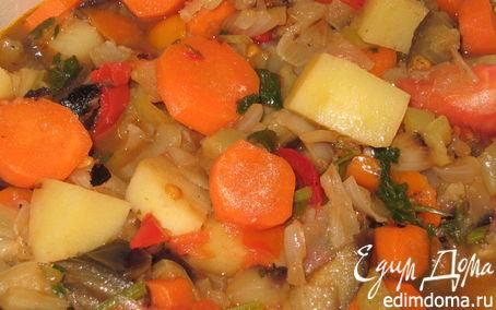 Рецепт Раззадоренные овощи (постное рагу)