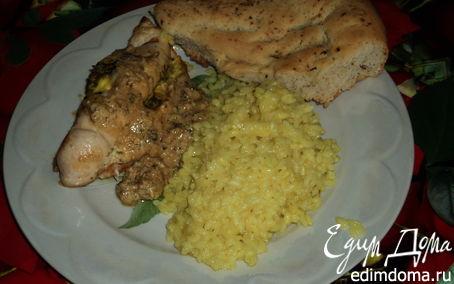 Рецепт Зразы из индейки с сыром