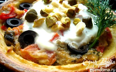 Рецепт Картофельные тарелки с ароматной начинкой