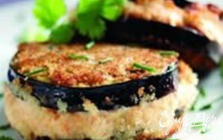Рецепт баклажан с лососем