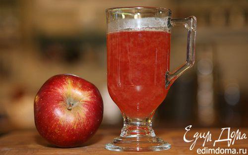 Рецепт Яблочно-смородиновый чай с медом и корицей
