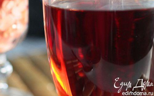 Рецепт Вишневый чай с медом и мятой