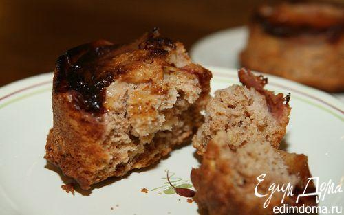 Рецепт Маффины с персиками, корицей и мускатным орехом