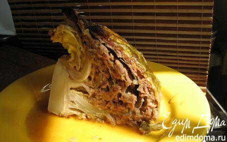 Рецепт Фаршированная капуста