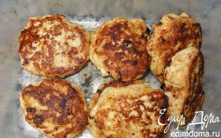 Рецепт Куриные котлетки с кукурузной крупой