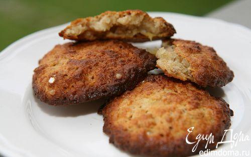 Рецепт Бананово-кокосовые печеньица с ромом и корицей