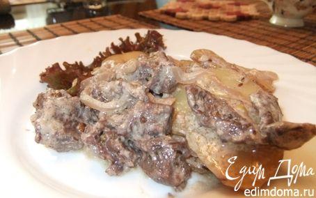 Рецепт Баранина с картофелем в фольге
