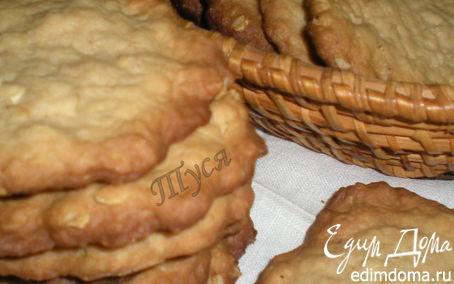 Рецепт Овсяное печенье на темном пиве